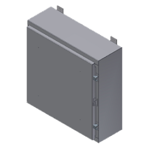 Steeline Enclosures S Series Continuos Hinge Single & Double Door Type 12 Wall Mount Enclosure product image