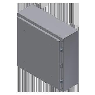 Steeline Enclosures S Series Continuos Hinge Single & Double Door Type 12 Wall Mount Enclosure product image