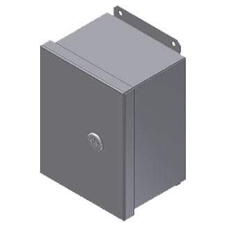 Steeline Enclosures Continuous Hinge Junction Box Quarter Turn Latch Enclosure product image
