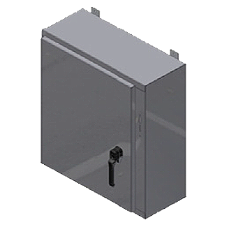 Steeline Enclosures S Series Single Door FMD Type 4 & 4X Wall Mount Enclosure product image
