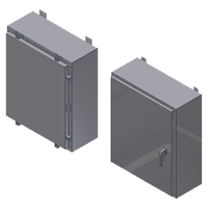 Steeline Enclosures S Series Single & Double Door Type 4 Wall Mount Enclosure product image