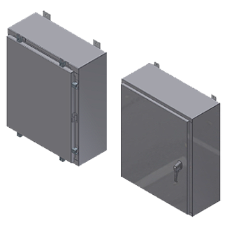 Image showing Steeline Enclosures reliable water heater enclosures