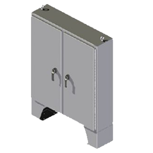 Steeline Enclosures SM Series Floor Mount Type 4 & 4X Non-Disconnect Enclosure product image