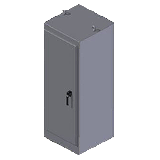 Steeline SS Series Free Standing Enclosure