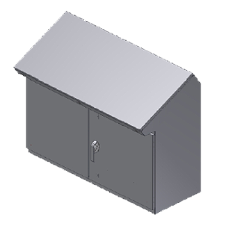 Steeline Enclosures SSC Series Slope Top Free Standing Console Type 12 Enclosure product image