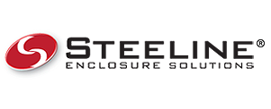 Official Steeline Enclosures logo