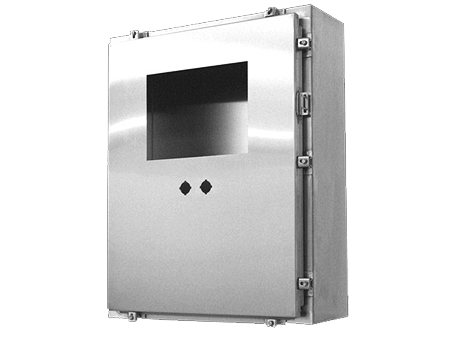 Steeline Enclosures enclosure showing custom cutouts and added value