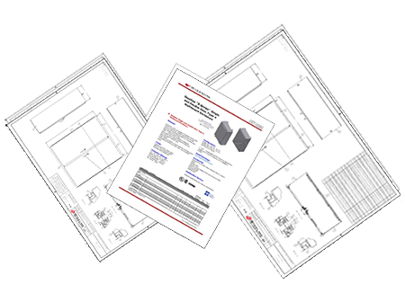 Specification drawings and information sheet image