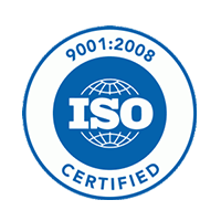 Steeline Enclosures ISO Certification mark