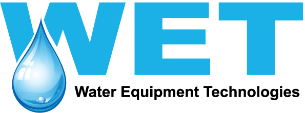 Official WET (Water Equipment Technologies) logo