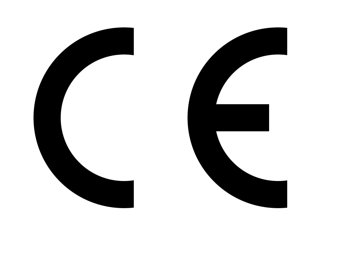 Official CE Mark for showing products meet the CE standards.